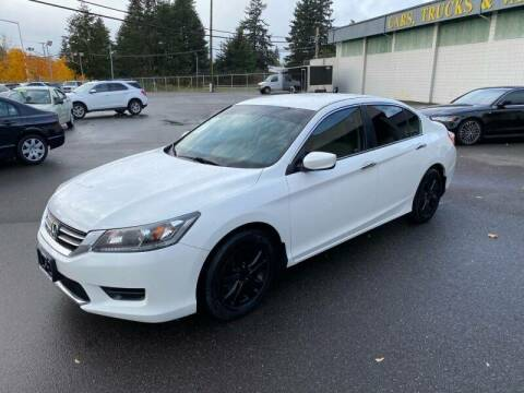 2015 Honda Accord for sale at TacomaAutoLoans.com in Tacoma WA
