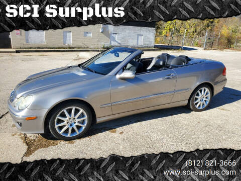 2007 Mercedes-Benz CLK for sale at SCI Surplus in Bloomington IN