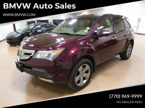 2008 Acura MDX for sale at BMVW Auto Sales in Union City GA