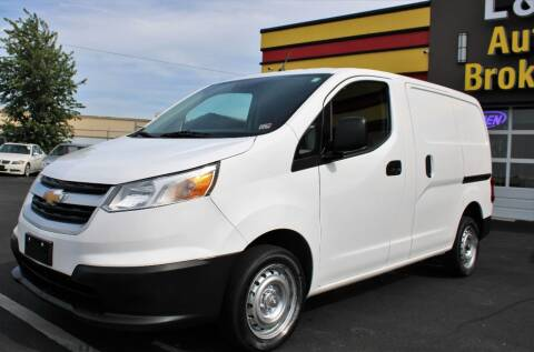 2017 Chevrolet City Express Cargo for sale at L & S AUTO BROKERS in Fredericksburg VA