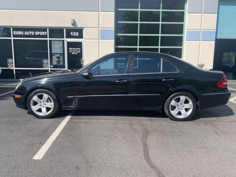 2004 Mercedes-Benz E-Class for sale at Euro Auto Sport in Chantilly VA