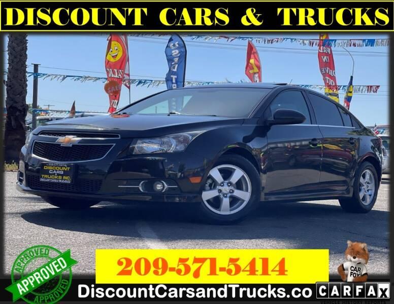 2014 Chevrolet Cruze for sale at Discount Cars & Trucks in Modesto CA