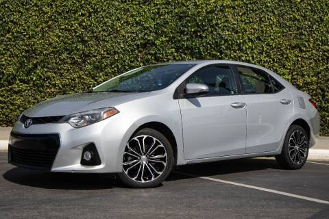 2014 Toyota Corolla for sale at 605 Auto  Inc. in Bellflower CA