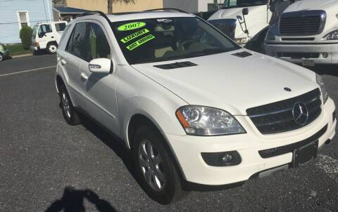 2007 Mercedes-Benz M-Class for sale at Harrisburg Auto Center Inc. in Harrisburg PA