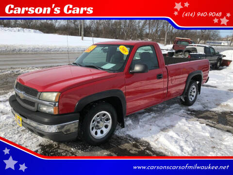 2005 Chevrolet Silverado 1500 for sale at Carson's Cars in Milwaukee WI