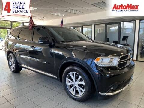 2015 Dodge Durango for sale at Auto Max in Hollywood FL