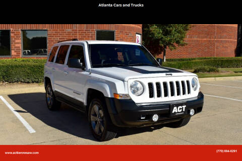 2016 Jeep Patriot for sale at Atlanta Cars and Trucks in Kennesaw GA
