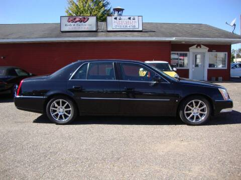 2008 Cadillac DTS for sale at G and G AUTO SALES in Merrill WI
