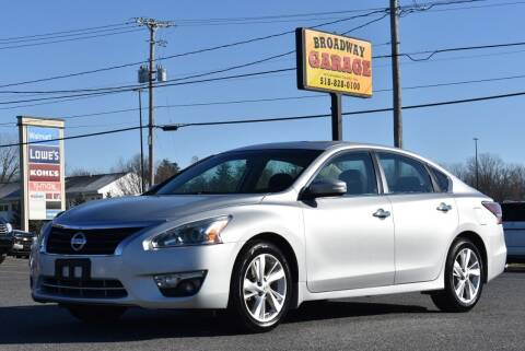 2014 Nissan Altima for sale at Broadway Garage of Columbia County Inc. in Hudson NY