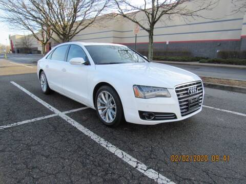 2011 Audi A8 L for sale at International Motor Group LLC in Hasbrouck Heights NJ