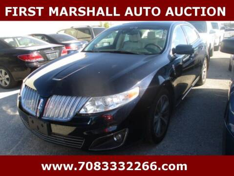2009 Lincoln MKS for sale at First Marshall Auto Auction in Harvey IL
