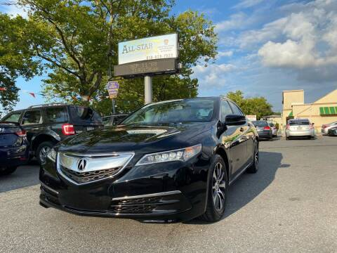 2015 Acura TLX for sale at All Star Auto Sales and Service LLC in Allentown PA