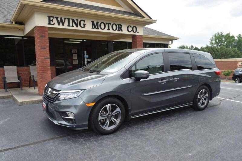 2018 Honda Odyssey for sale at Ewing Motor Company in Buford GA