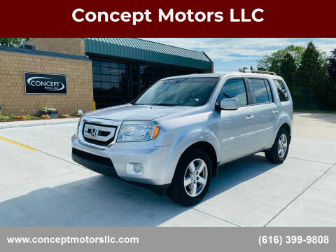 2010 Honda Pilot for sale at Concept Motors LLC in Holland MI