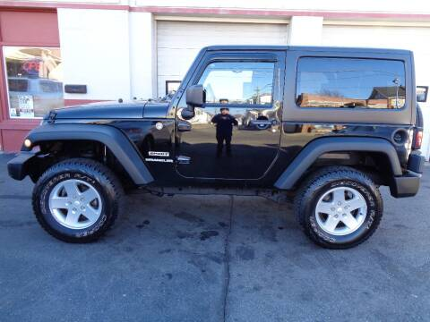 2012 Jeep Wrangler for sale at Best Choice Auto Sales Inc in New Bedford MA