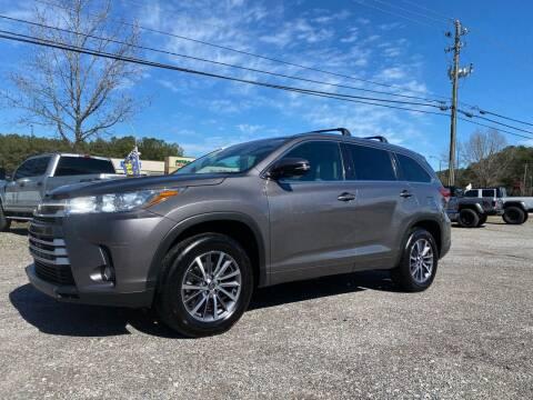 2017 Toyota Highlander for sale at 216 Auto Sales in Mc Calla AL