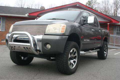 2005 Nissan Titan for sale at Peach State Motors Inc in Acworth GA