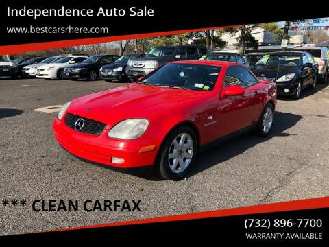 2000 Mercedes-Benz SLK for sale at Independence Auto Sale in Bordentown NJ