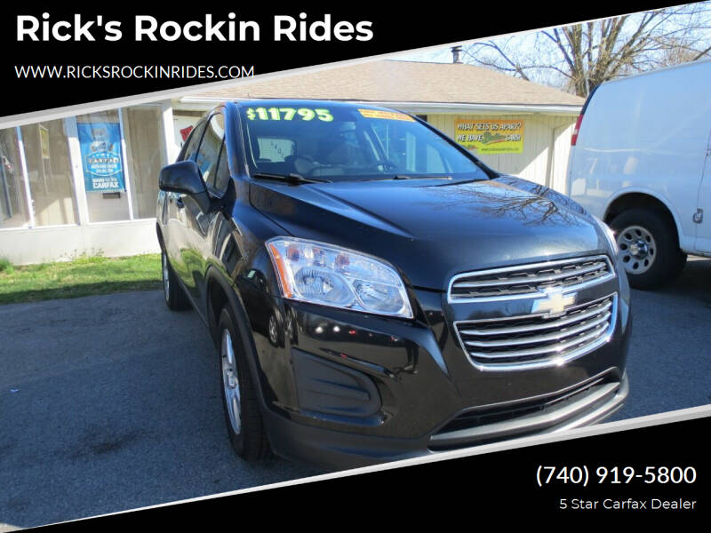 2016 Chevrolet Trax for sale at Rick's Rockin Rides in Reynoldsburg OH