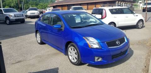 2012 Nissan Sentra for sale at Steel River Auto in Bridgeport OH