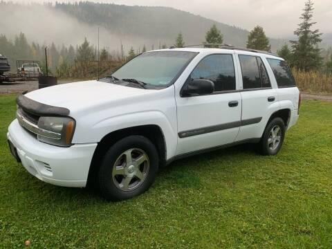 2004 Chevrolet TrailBlazer for sale at Harpers Auto Sales in Kettle Falls WA
