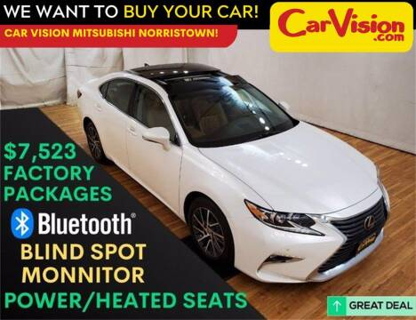2016 Lexus ES 350 for sale at Car Vision Mitsubishi Norristown in Trooper PA