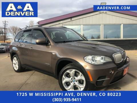 2012 BMW X5 for sale at A & A AUTO LLC in Denver CO