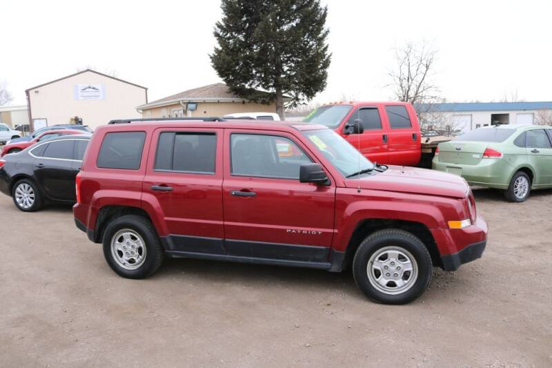 2014 Jeep Patriot for sale at Northern Colorado auto sales Inc in Fort Collins CO