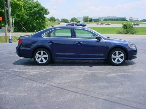 2013 Volkswagen Passat for sale at Westview Motors in Hillsboro OH