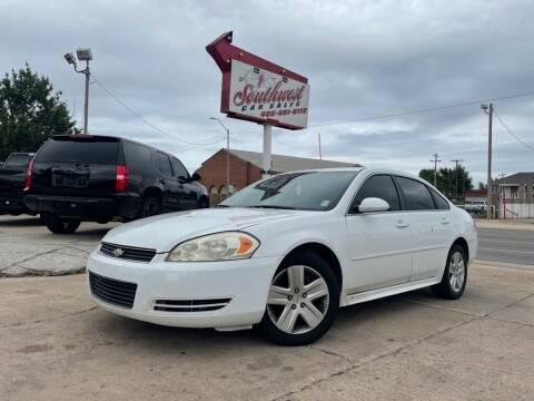 2011 Chevrolet Impala for sale at Southwest Car Sales in Oklahoma City OK