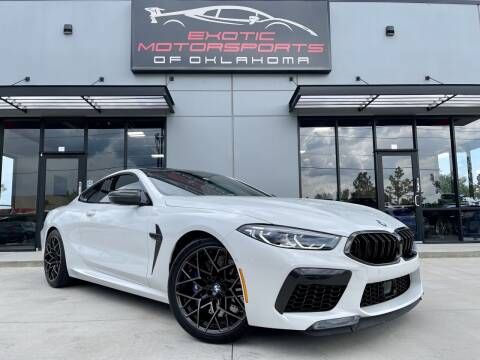 2020 BMW M8 for sale at Exotic Motorsports of Oklahoma in Edmond OK