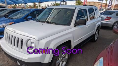 2017 Jeep Patriot for sale at USA Auto Inc in Mesa AZ