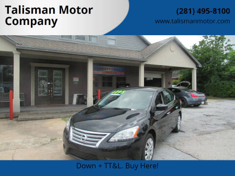 2015 Nissan Sentra for sale at Don Jacobson Automobiles in Houston TX