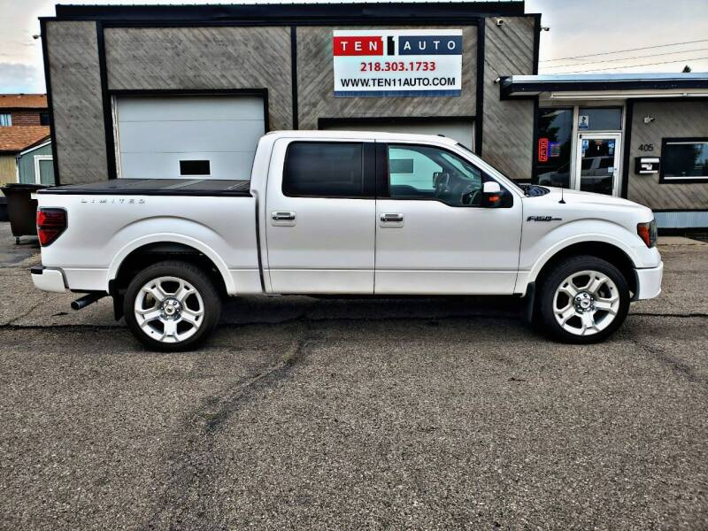 2011 Ford F-150 for sale at Ten 11 Auto LLC in Dilworth MN