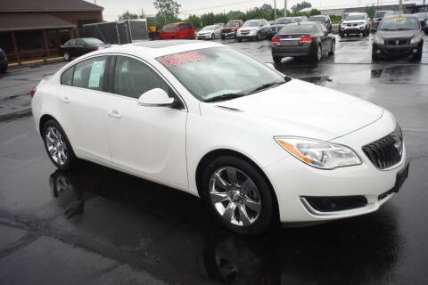 2017 Buick Regal for sale at Bryan Auto Depot in Bryan OH