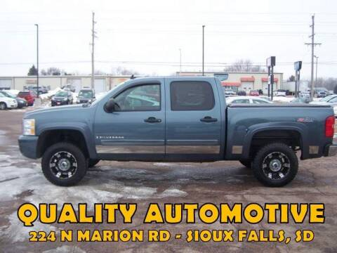 2008 Chevrolet Silverado 1500 for sale at Quality Automotive in Sioux Falls SD