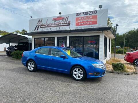 2012 Ford Fusion for sale at Mechanicsville Auto Sales in Mechanicsville VA