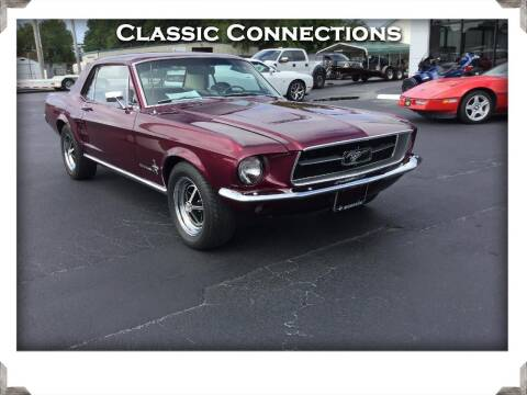 1967 Ford Mustang for sale at Classic Connections in Greenville NC