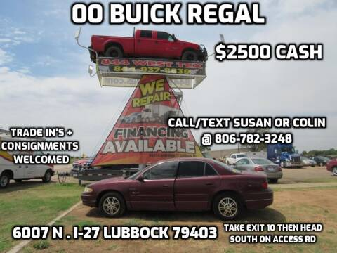 2000 Buick Regal for sale at West Texas Consignment in Lubbock TX
