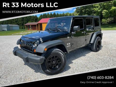 2008 Jeep Wrangler Unlimited for sale at Rt 33 Motors LLC in Rockbridge OH
