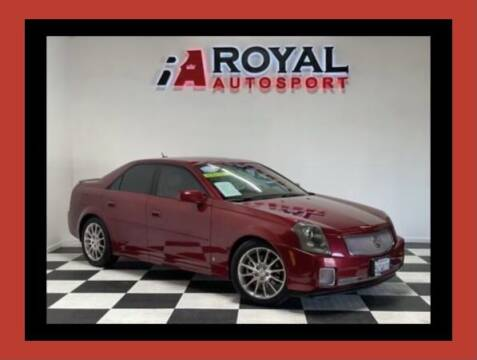 2007 Cadillac CTS for sale at Royal AutoSport in Sacramento CA