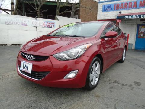 2012 Hyundai Elantra for sale at IBARRA MOTORS INC in Cicero IL