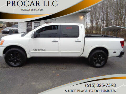 2012 Nissan Titan for sale at PROCAR LLC in Portland TN