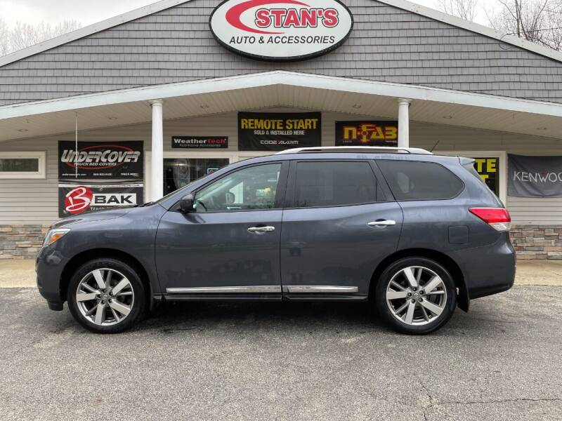 2014 Nissan Pathfinder for sale at Stans Auto Sales in Wayland MI
