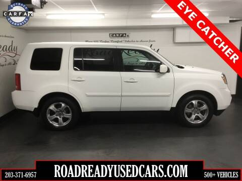 2013 Honda Pilot for sale at Road Ready Used Cars in Ansonia CT