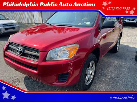 2009 Toyota RAV4 for sale at Philadelphia Public Auto Auction in Philadelphia PA