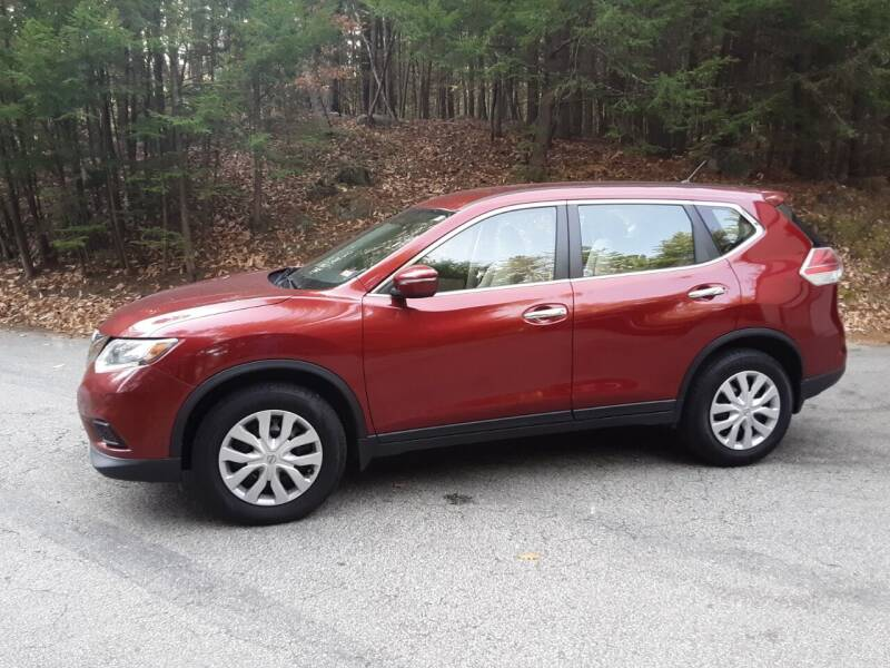 2014 Nissan Rogue for sale at H P M Sales in Goffstown NH