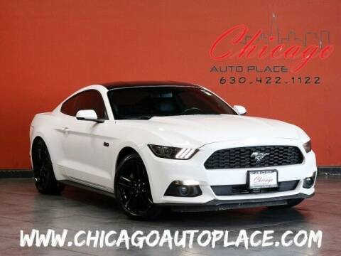 2017 Ford Mustang for sale at Chicago Auto Place in Bensenville IL
