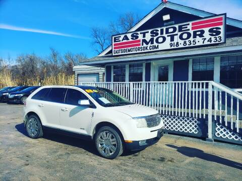 2008 Lincoln MKX for sale at EASTSIDE MOTORS in Tulsa OK