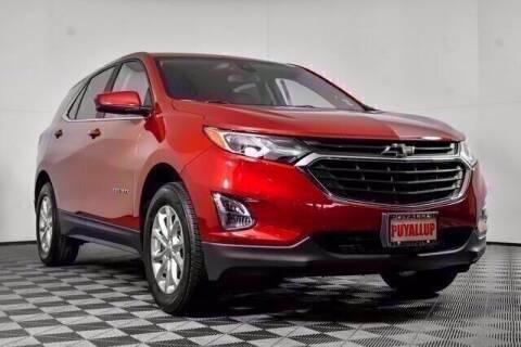 2021 Chevrolet Equinox for sale at Washington Auto Credit in Puyallup WA